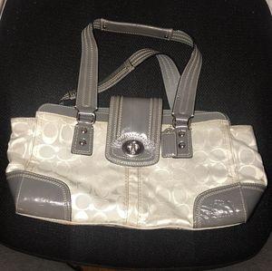 Coach Hampton Satchel Bag